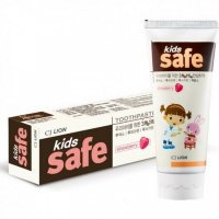 CJ Lion Toothpaste Kids Safe Strawberry