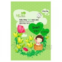 Mijin Care Daily Dewy Snail Mask Pack