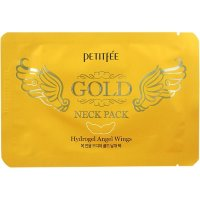 Petitfee Angel Wings Gold Neck Hydrogel Pack