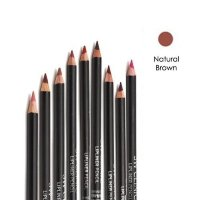 3W Clinic Wood Lip Liner Pencil 02 Natural Brown