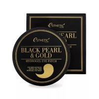 Esthetic House Black Pearl & Gold Hydrogel Eye Patch