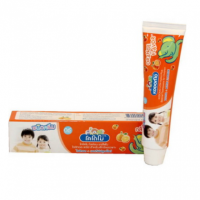 "Lion Kodomo Toothpaste For Children ""Orange Flavor"""