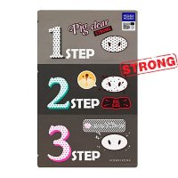 Holika Holika Pig Clear Blackhead 3-kit Strong
